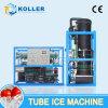 máquina de hielo del tubo de la eficacia alta 834kg/Hour para la planta de hielo grande