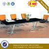 OEM Lijst van de Conferentie van de Benen van het Metaal van het Glas van het Kantoormeubilair de Hoogste (NS-GD057)