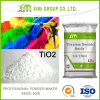 Pigment opacifiant en peintures et dioxyde de titane TiO2 de rutile d'enduits