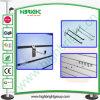 Double affichage sur le fil de métal Crochet pour Slatwall MDF