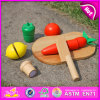 2015 цветастое Wooden Fruit Cutting Set для Kids, Wooden Cutting Game Toy для Children, Wooden Kitchen Toy Fruit&Vegetables W10b105