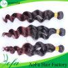 熱い製品のインドのRemyの人間の毛髪の製品のOmberの毛