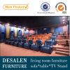 Migliore sofà del cuoio genuino del teatro di qualità (A169)