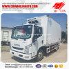 2017 de Populaire Vrachtwagen van de Ijskast van Yuejin van de Verkoop voor Bevroren Zeevruchten