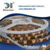 5050 nastri impermeabili del silicone LED di SMD/M (colore: Bianco)