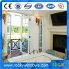 Doppelte Schwingen-Öffnungs-Aluminiumflügelfenster-Tür und Fenster