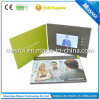 Business GiftのペーパーMaterial LCD Video Player Brochure