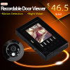 Digital infrarouge Door Peephole Viewer, Security Door Viewer avec Motion Detect, Take Photo, Video Record