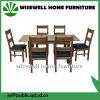食堂の家具のタイプおよび木物質的な食事セット