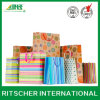 Cartone Gift Shopping Package Kraft Paper Bag con Handle