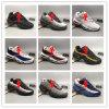 Taille de haute qualité 40-47 de 2017 d'hommes des chaussures de course Max95 d'hommes de rétro de coussin de marine sports de Maxes 95 Og de Chaussure 95s de marche espadrilles de gaines