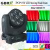 7PCS*15W LEDの移動ヘッドビームライト(GBR-BL715)