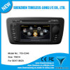 Автомобильный DVD для Seat Ibiza 2009-2013 со встроенным GPS A8 микросхем RDS Bt 3G / Wi-Fi DSP радио 20 DICS MOMERY (TID-C246)