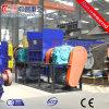 Máquina de esmagamento de garrafas de plástico com triturador de Eixo Duplo