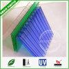 De UV Beschermde twee-Muur Holle Bladen van het Polycarbonaat voor het Dakwerk van de Serre & van de Luifel