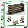Гондола деревянных и Steel Supermarket Shelf