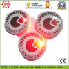 Pin en gros Badge de Round Flashlight Button avec Custom Logo