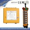 À télécommande par radio sans fil de la grue 14buttons industrielle de fond