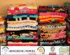 Baumwollreagierender Velour gedrucktes Bad-Tuch 100% auf Lager