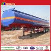 Três eixos de armazenamento do tanque de Ácido líquido Navio químico semi reboque