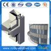 Profil en aluminium de mur rideau de Customed de divers fini extérieur en gros