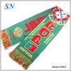 Складские запасы фабрики Jacqard трикотажные футбольных болельщиков шарфы