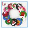 Venta al por mayor Decoraciones de Navidad Regalos de los niños Badge Tin Brooch