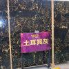 Laje de mármore cinzenta de Turquia da alta qualidade para a parede do clube