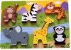 Puzzle Madeira educativos brinquedos de madeira (34769)
