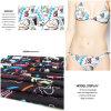 Het interessante Afgedrukte Patroon van het Beeldverhaal breit Stof voor Swimwear en Jersey Gament