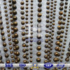Talón de hierro decorativos cortinas de malla para la decoración de interiores