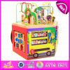 2015 multi Colors 3D Educational Kids Toy Bead Maze Toy, DIY Learning Toy Bead Maze Toy, Christmas Gift Wood Bead Maze Toy W12D028