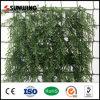 옥외 철회 가능한 인공적인 플라스틱 정원 잔디 담