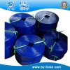 Tuyau anti-déflagrant de l'eau de PVC de tuyau de pouce du bleu 1-10 de Bayu