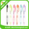 Stylo bille coloré en plastique de cadeaux promotionnels (SLF-PP058)