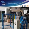 Película plástica que exprime y máquina de la granulación usada en línea que se lava