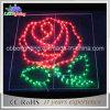 Indicatore luminoso d'attaccatura di motivo del fiore di natale di IP65 2D LED