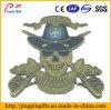 Emblema de la insignia nos Espada cráneo Hunter metal con Pin de seguridad