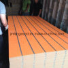 Aluminium Strips Inserted in MDF Slot