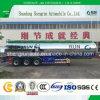 Autocisterna del serbatoio di trasporto semi del combustibile leggero del rimorchio/rimorchio di alluminio dell'autocisterna