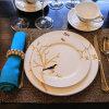 10 pulgadas de 8 pulgadas de Plato, carnes, plato y plato taza de café y