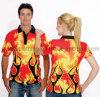 Camisas de polo polivinílicas sublimadas aduana (ELTMPJ-612)