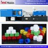 Automatisches horizontales Plastikflaschenkapsel-Spritzen, das Maschine herstellt
