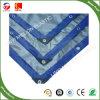 De PP/PE Lona tecido prateado azul