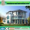 Casa pré-fabricada de madeira do Prefab do cimento da potência solar do estilo alemão