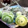 Flor artificial del ranúnculo de Flocky de 2 pistas para la decoración (SF15636)