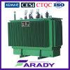3 Transformator 100 van de fase Ondergedompelde het Aanaarden van kVA Olie Transformator
