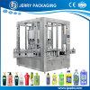 Máquina de rellenar líquida en botella cosmético rotatorio lleno de Automitic con el pistón