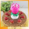 صنع وفقا لطلب الزّبون يدور شمعة زهرة لون موسيقى عيد ميلاد شمعة