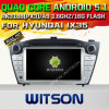 Carro DVD GPS do Android 5.1 de Witson para Hyundai IX35 com sustentação do Internet DVR da ROM WiFi 3G do chipset 1080P 16g (A5735)